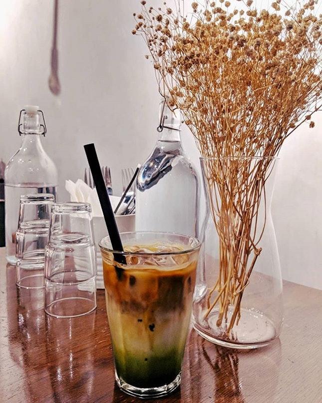 The Green Shot - Happy Mid-Week ;) #fluffyunicorn🦄 #2018❤️ #cafehoppingsg #burpple #burpplesg #igsg #igsgfoodies #coffeeaddiction #throwback