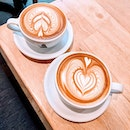 Nothing is better than a cup of flat white on a rainy day like this...