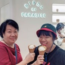 Featuring the mum and sis having ice cream...