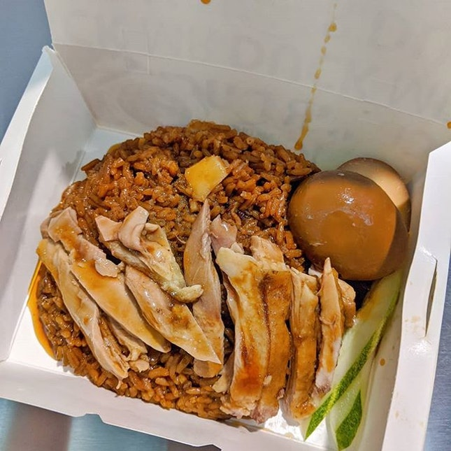 Yummy tummy 😋 recent dabao fav duck rice...