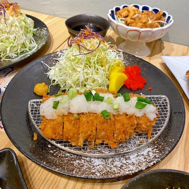 Tonkatsu with Daikon Oroshi & Ponzu Sauce