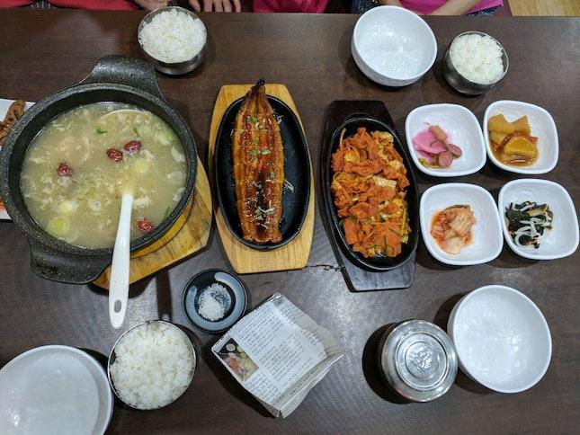 Family Style Korean Food