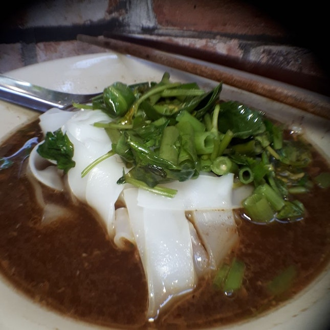 $4.80 Beef Kway Teow Soup