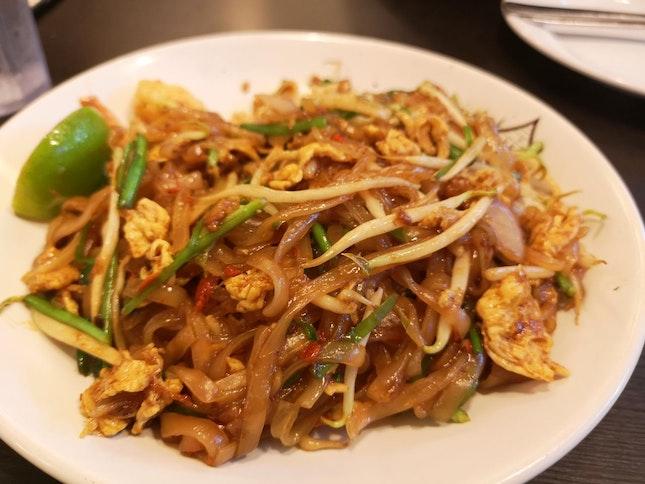 Quality Pad Thai Below $10