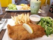 Amazing Fish And Chips In A Neighbourhood Cafe
