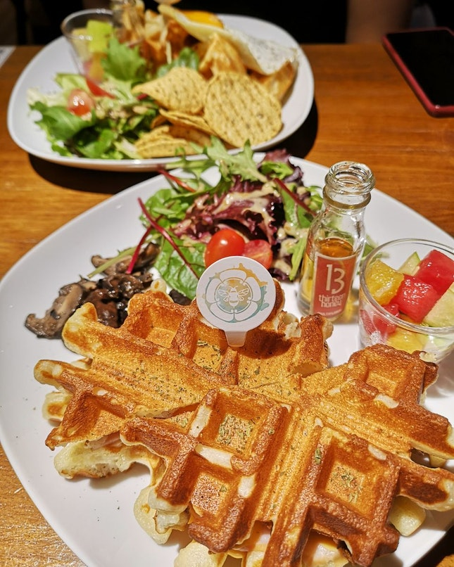 Delicious Savoury Waffles!