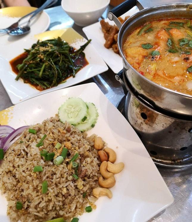 Solid Thai Food!!