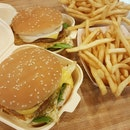 Combo Burger $6.80