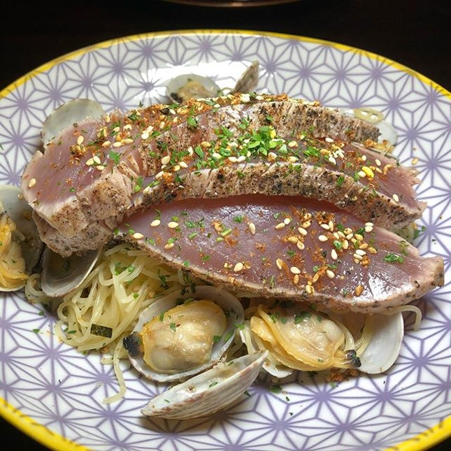 Tuna olio from NUD Chill Come for Thier Lunch Menu .