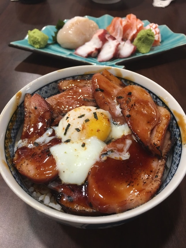 Glazed Duck With Onsen Egg
