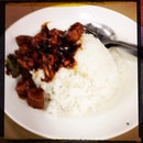 Kung Po Chicken With Rice