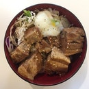 Japanese Braised Pork Belly w/ Rice