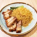 Roasted pork noodle at London Duck 😍😍😍