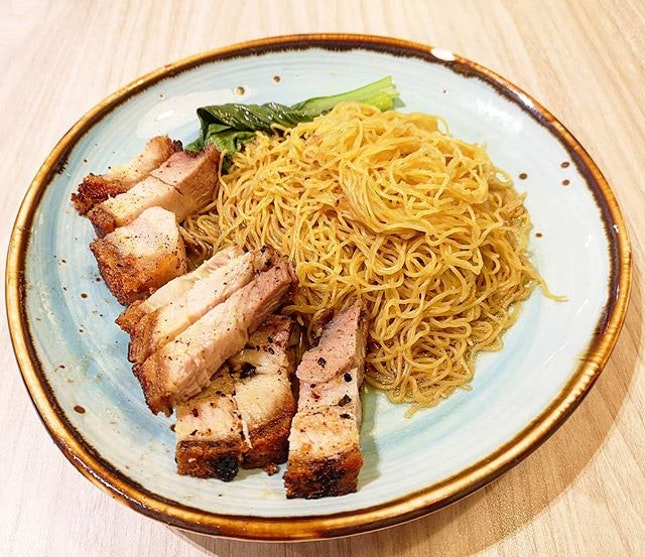 Roasted pork noodle at London Duck 😍😍😍