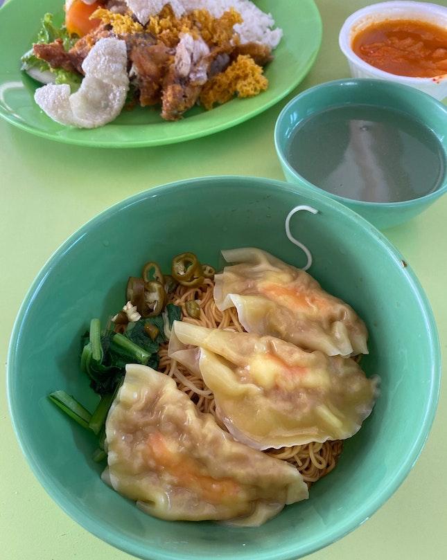 Shrimp Dumpling Noodle