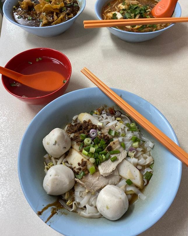 Fishball With Kwayteow ($3)