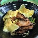Charsiew Dumpling Noodles