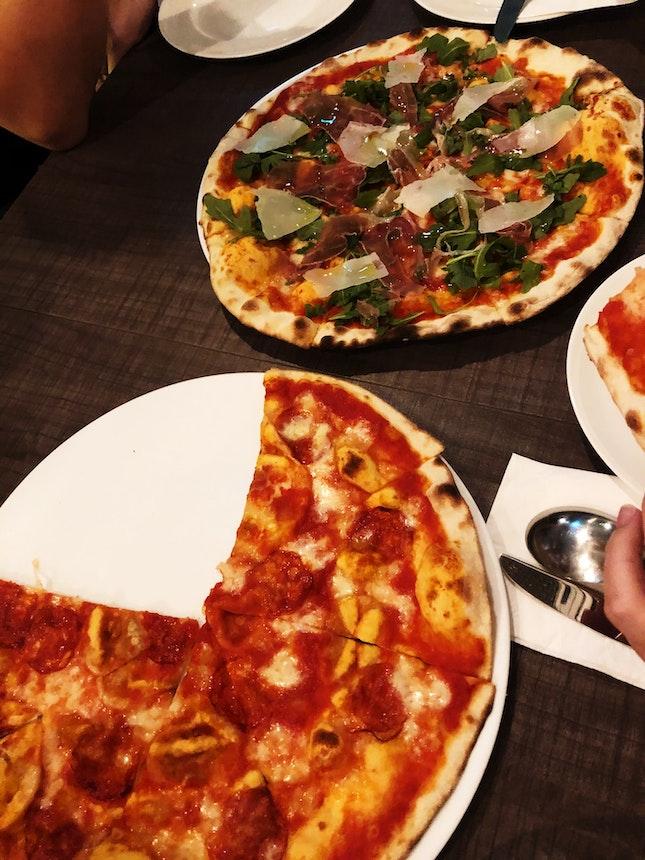 Pizzas & Aglio Olio