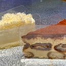 Triple Fromage (left); Tiramisu (right) - $6.90 each