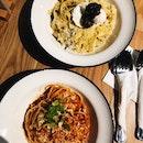 Chilli Crab Pasta & Truffle Carbonara