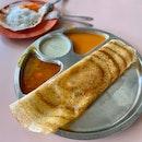 Masala Butter Thosai ($4)