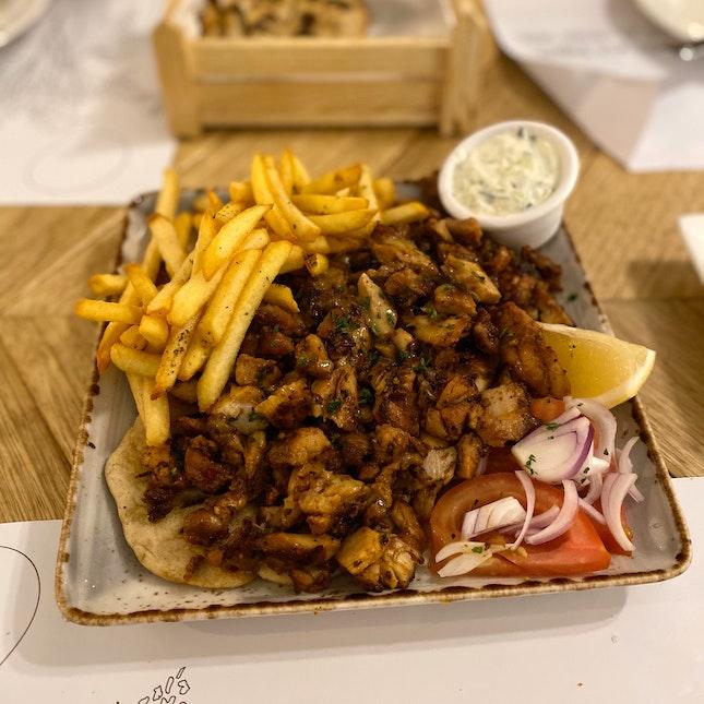Chicken Yiro Merida ($23.90)