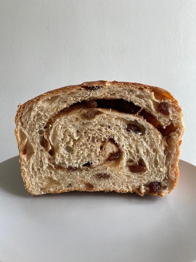 Cinnamon Raisin Loaf ($4.90)