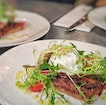 Duck Rillete With Poached Eggs