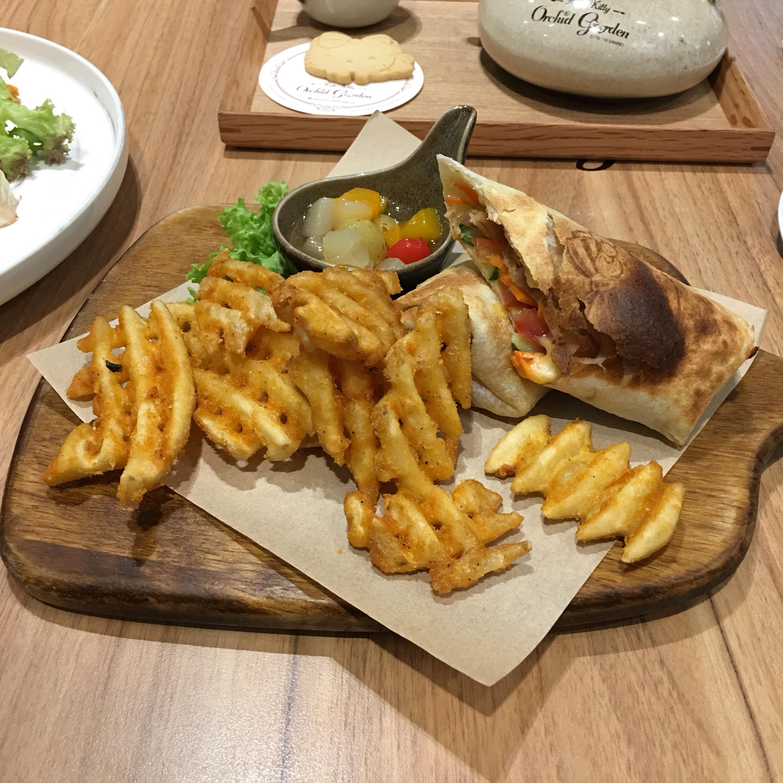 Da Thai Food Bbq Menu