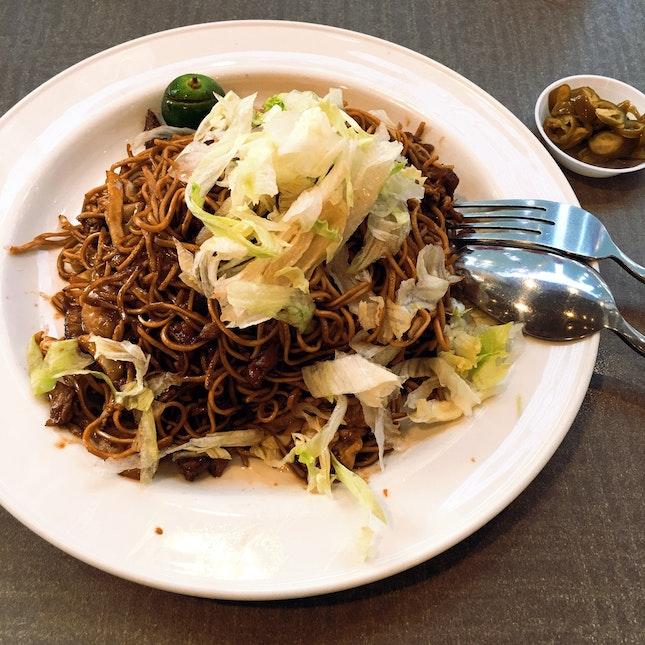 Hong Kong Fried Noodle