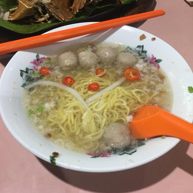 Bak Chor Mee (Soup Only)