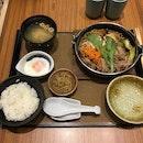 Sukiyaki Teishoku
