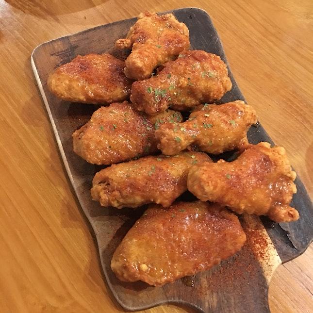 Crispy Honey Wings