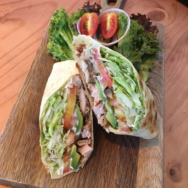Chicken & Avocado Wrap