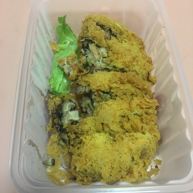 Deep Fried Duck Roll
