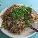 Fried White Kway Teow