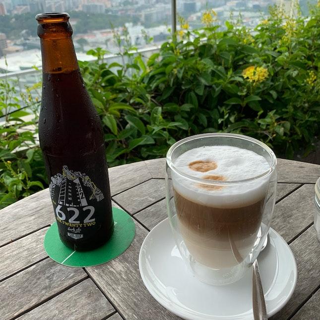 Block 622 Dark Ale & Latte