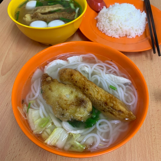 Mixed Fish Thick Bee Hoon