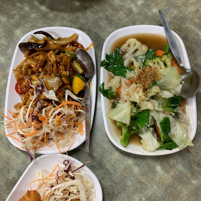 Fried Thai Food