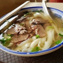 Beef Knife-Cut Noodles ( $5.00 )