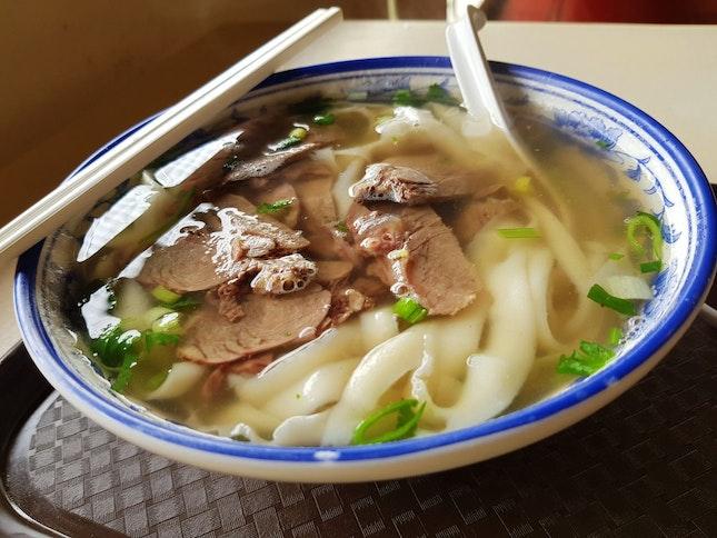 Beef Knife-Cut Noodles ( $5.00 )