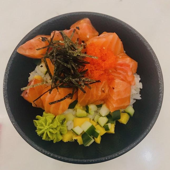 Underrated Dish! Salmon Chirashi Don