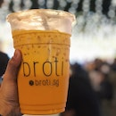 Broti Thai Milk Tea