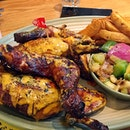 When we are hungry, this Nando Peri-peri whole chicken does not enough for both of us!