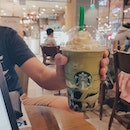 📍 Starbucks (Eastpoint Mall)⚊The matcha in Matcha Earl Grey Jelly Frappuccino ($9.40) was not too bitter with the sweetness covering its flavour.