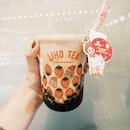 "📍 LiHoDa Hong Pao Milk Tea $3.90Tastewise, it has strong ""chinese tea"" flavour that not everyone may enjoy."