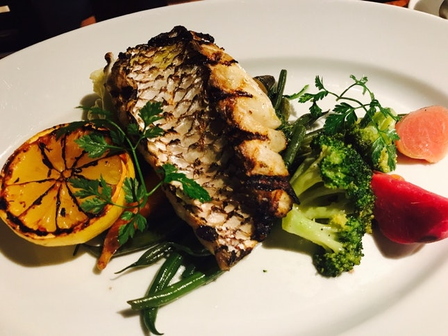 Grilled Red Snapper ( Set Lunch)