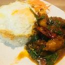 Basil Fish Rice Set