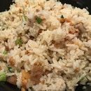 Teochew Yam Claypot Fried Rice