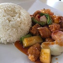 Sweet And Sour Pork Rice Set
